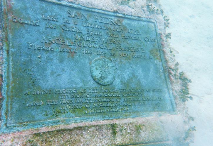 San Pedro shipwreck Florida