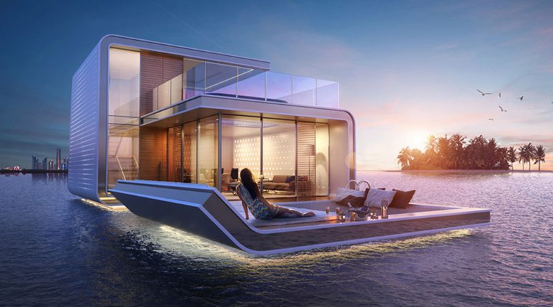 Floating Underwater Houses: Snorkeler's dream house