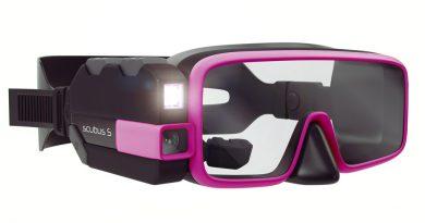 Smart scuba diving mask - The Scubus S system