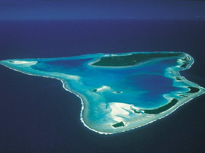 Aitutaki-Island Cook-Islands best coral reefs