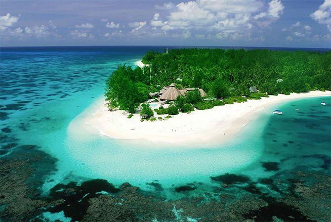 Aldabra best coral reef