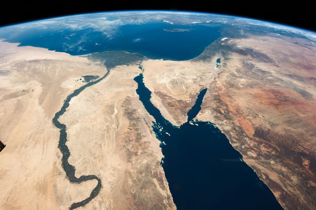 Red Sea - Aerial Photo