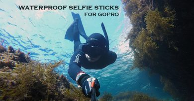 Waterproof selfie stick – Get your GoPro underwater