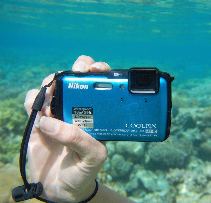 Nikon AW 120 Waterproof compact