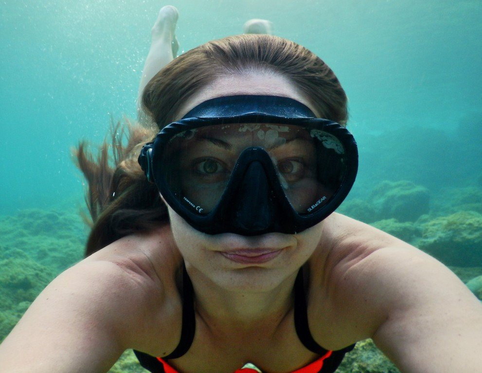 Fogging snorkel mask