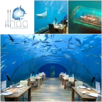 Ithaa - Underwater Restaurants