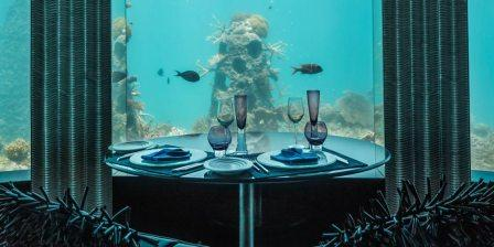 Per AQUUM NIYAMA Maldives Subsix Underwater Restaurant and Night Club