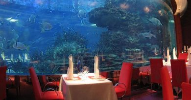 Restaurant under the sea