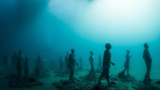 Scalptures unerwater - Lanzarote - Rubicon