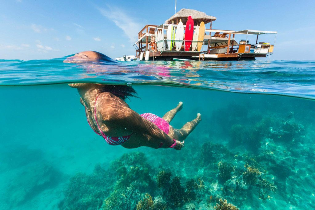 Cloud 9 Fiji Floating Bar Snorkel