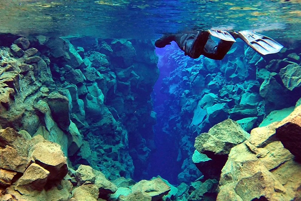 Silfra fissure snorkeling tour