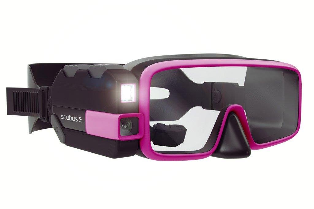 Smart scuba diving mask