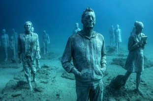 first underwater museum in Lanzarote