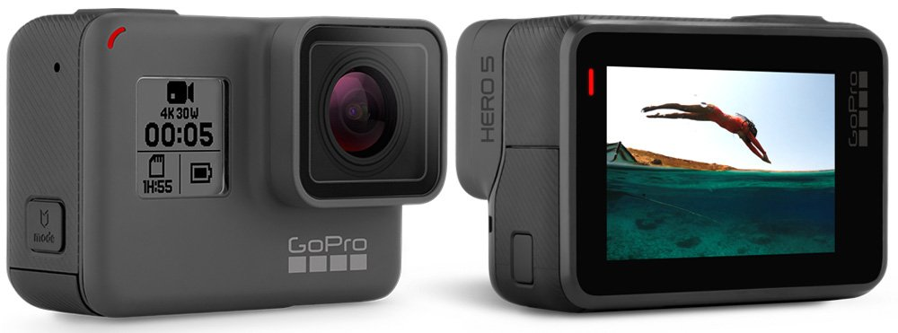 GoPro hero5 black - waterproof snorkeling action cam