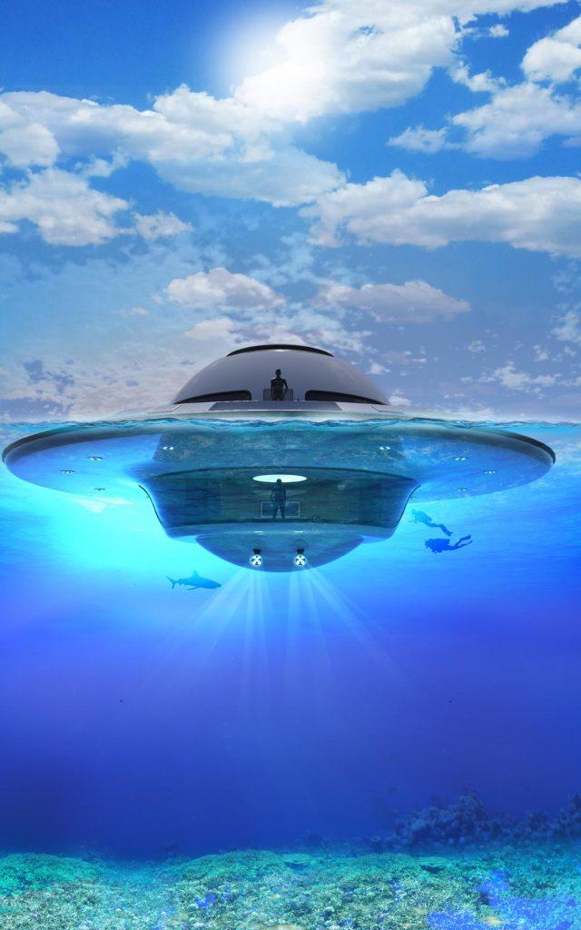 Floating home - UFO Jet Capsule Price