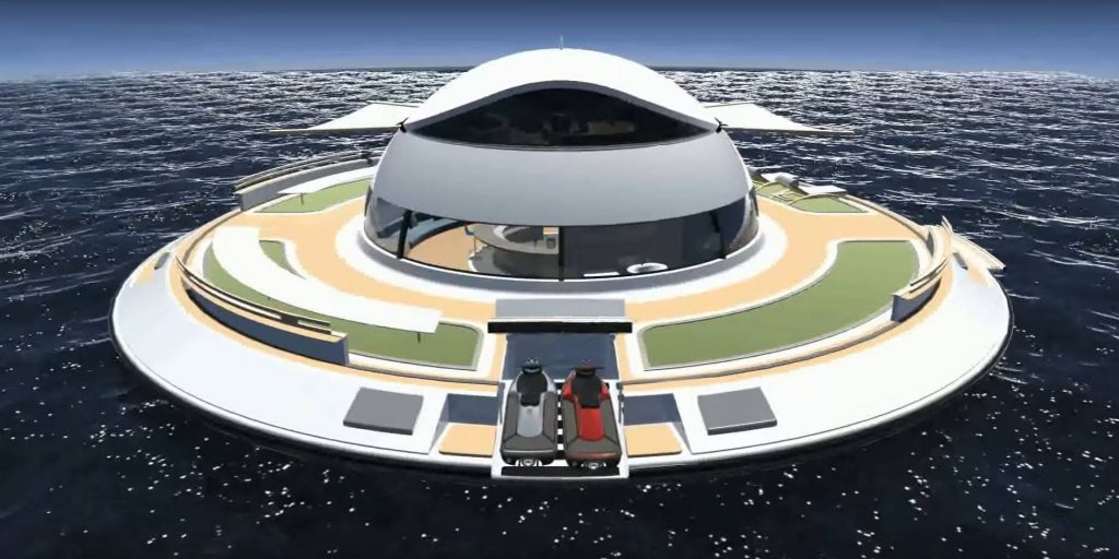 Luxory Houseboat - UFO 2.0 Jet Capsule for Sale