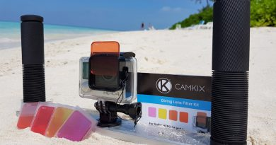 GoPro red filter - Camkix diving lens kit Review