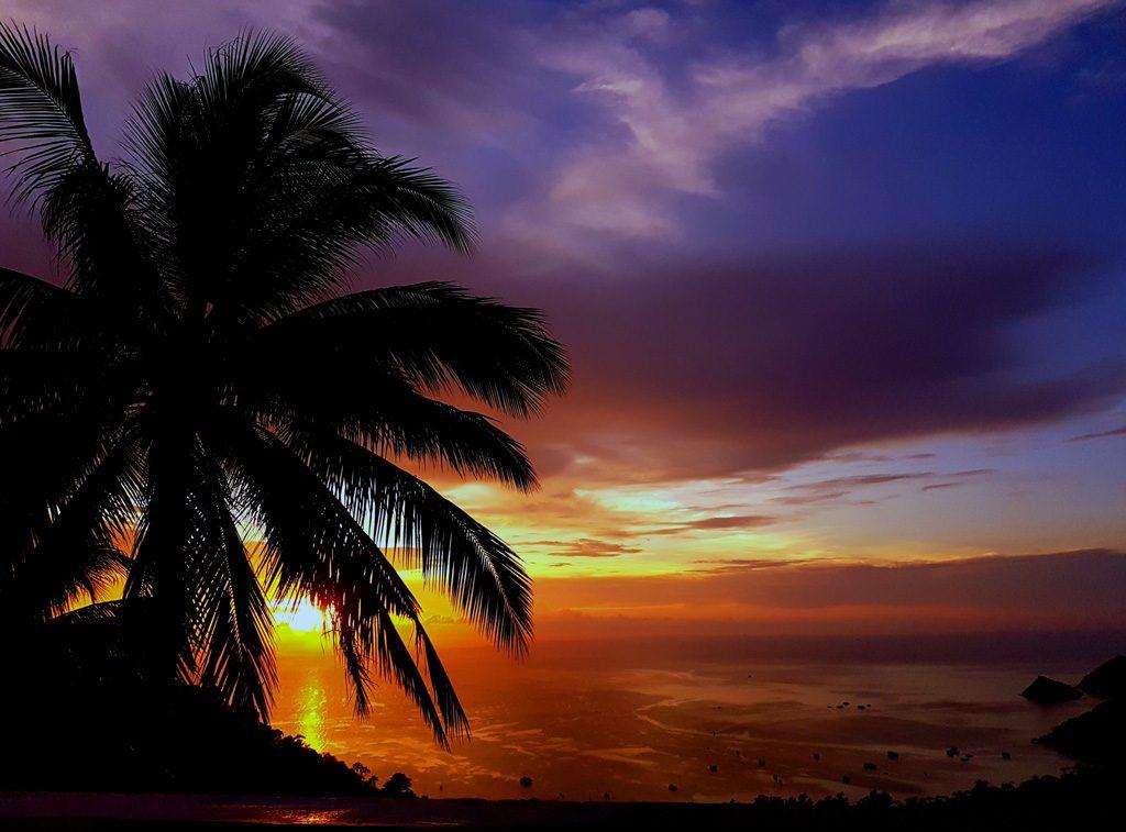 Sunset on Thailand - Koh Tao