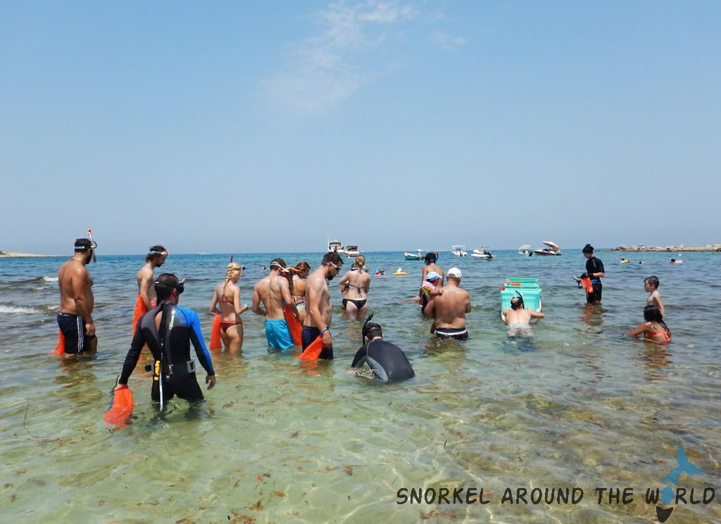 beach cleanup in Malta