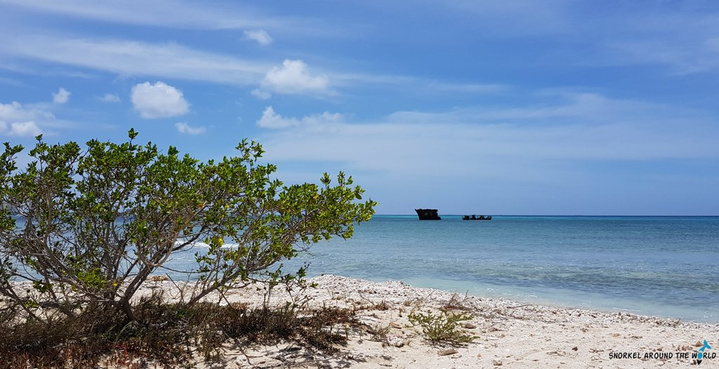 Baboo shipwreck Aruba