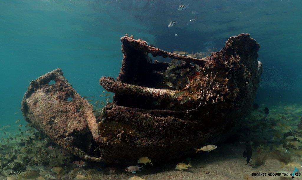 Baboo shipwreck Malmok