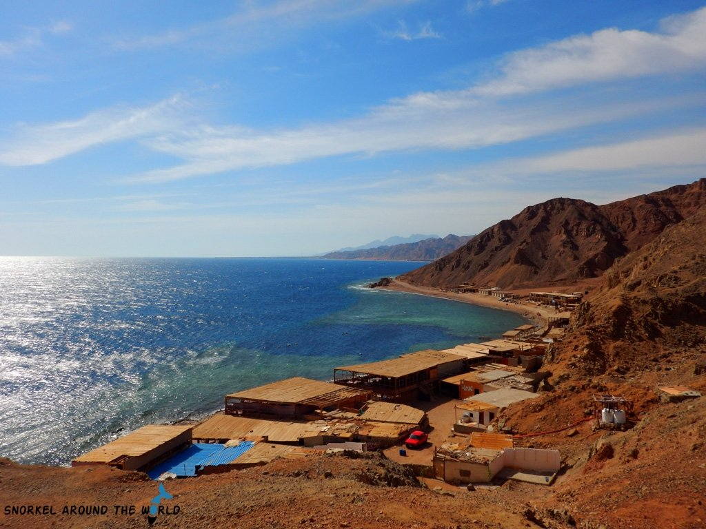 Snorkeling places in Egypt - Blue Hole Dahab