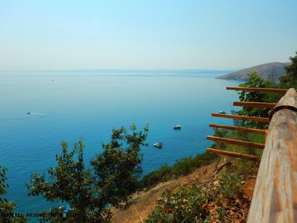 Croatia Adriatic Sea view