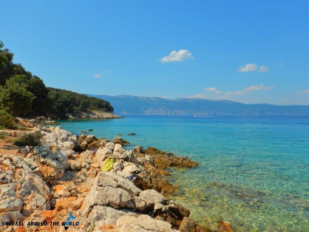 Croatia Krk Glavotok Coast