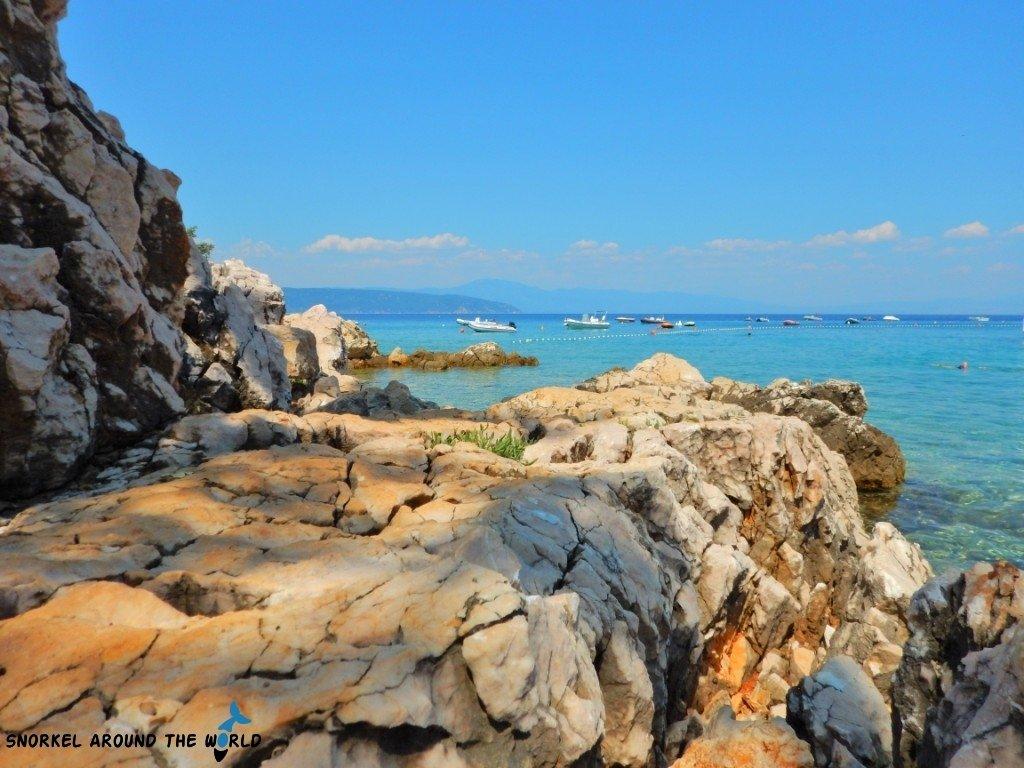 Krk Croatia Glavotok Beach