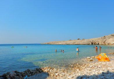 Krk Island Stara Baska Beach