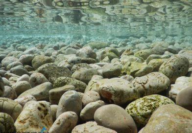 Krk Island rocky shore