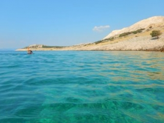 Stara Baska Adria - Where to snorkel