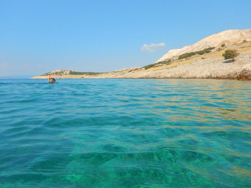 Stara Baska Adria - Where to snorkel