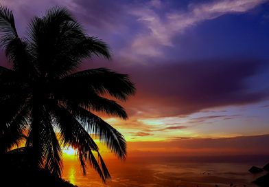 Sunset on Thailand - Koh-Tao
