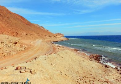 Walking to the Blue Hole Egypt