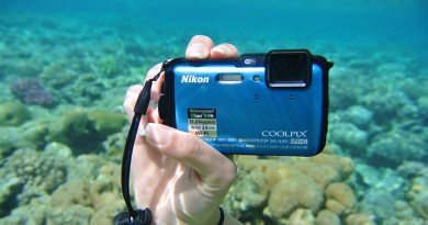 Nikon waterproof compact camera