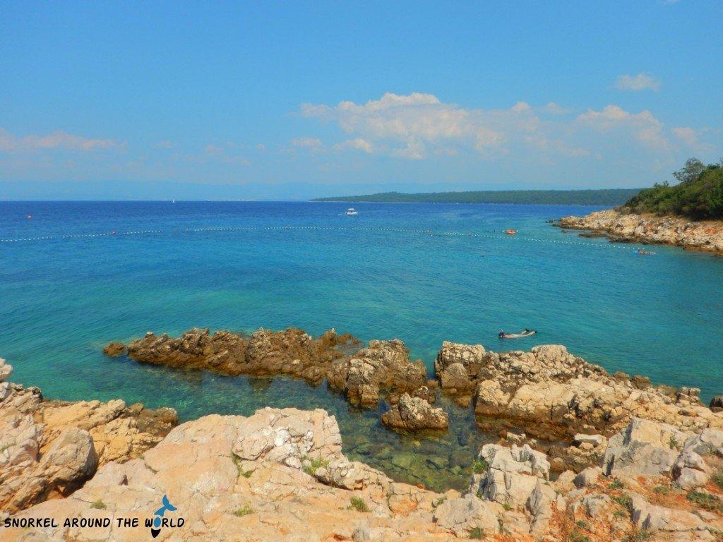 Where to snorkel in Glavotok Krk
