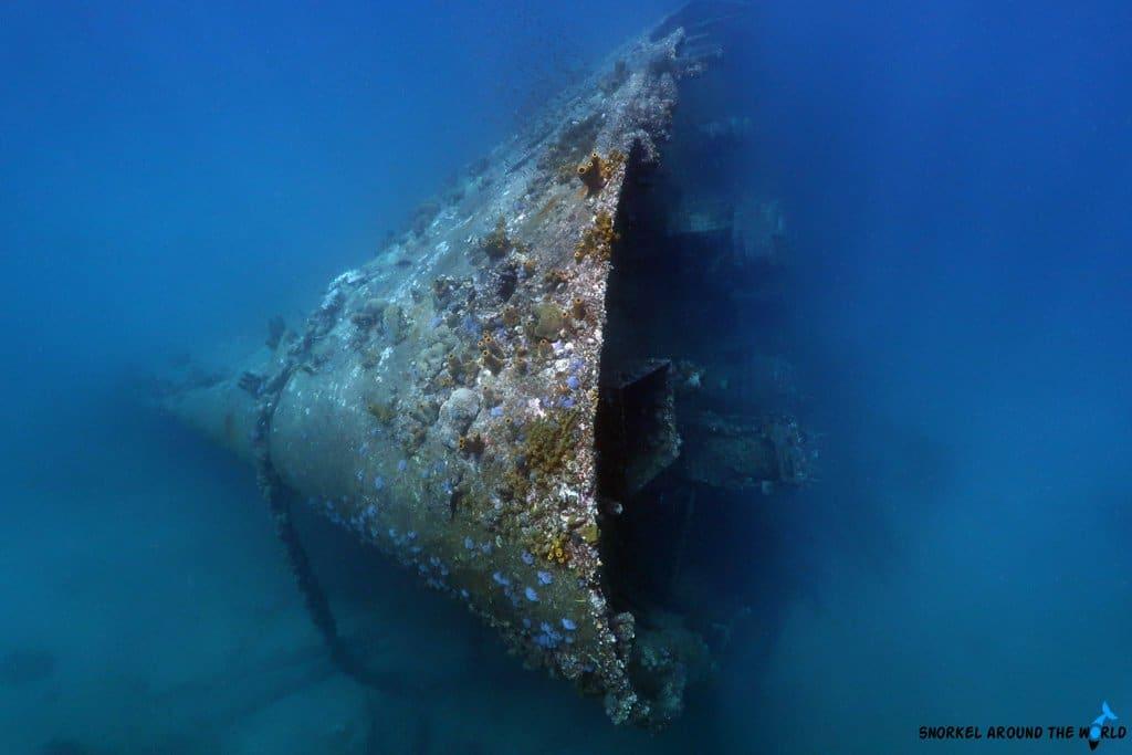 Antilla snorkeling trip Aruba
