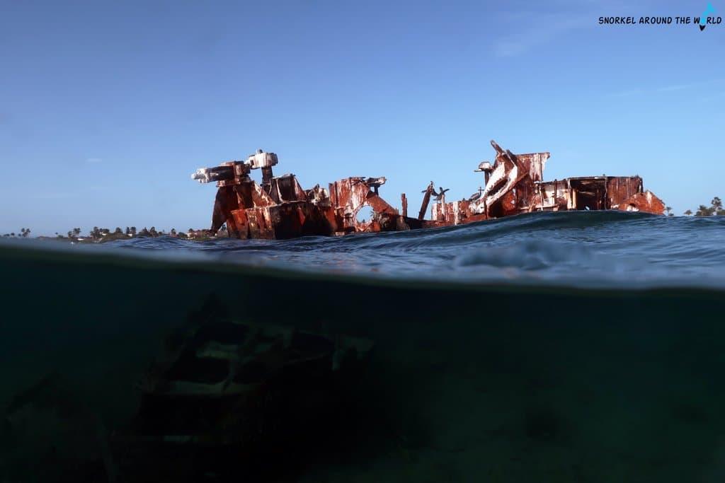 Aruba shipwrecks