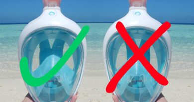 Full face snorkel mask dangerous? Concerns, hazards and facts