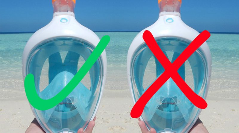 Is full face snorkel mask dangerous