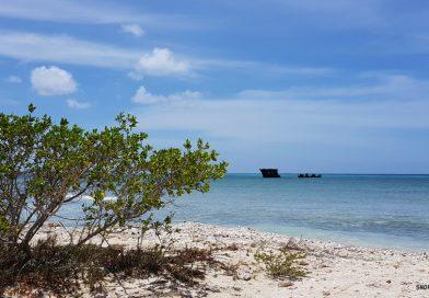 Malmok shipwreck Aruba