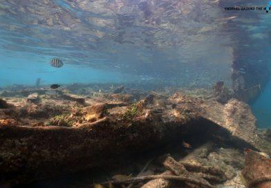 Snorkeling aruba wreck