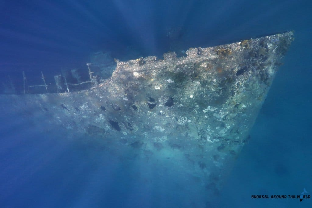 Snorkeling on Aruba Antilla