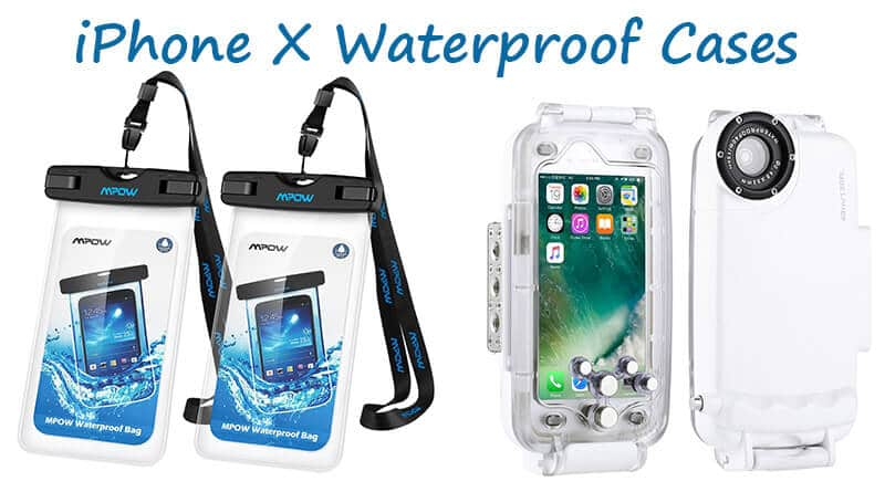 Waterproof case for iPhone X, Diving Case for iPhone X, Best Waterproof case for iPhone X