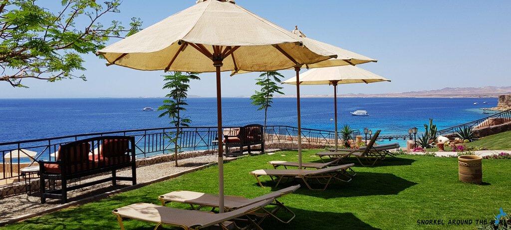 Jaz Fanara Resort Relaxing Area