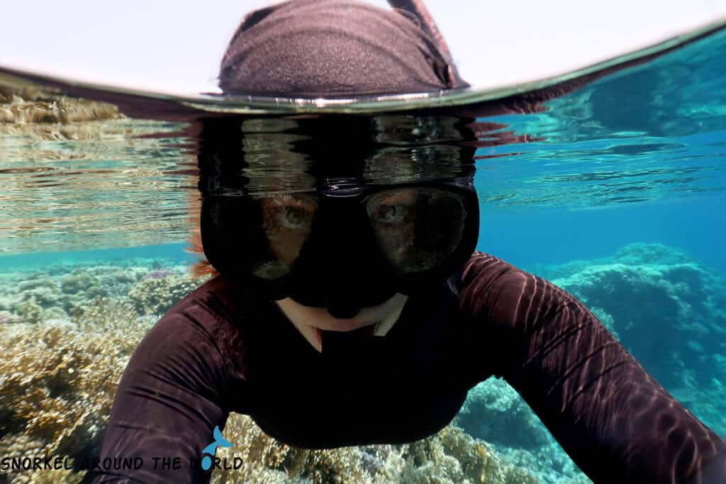 UV-shirt for snorkeling