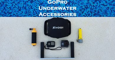 GoPro underwater accessories