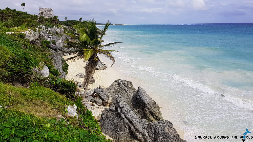 Playa Ruinas Beach - Tulum Mexico