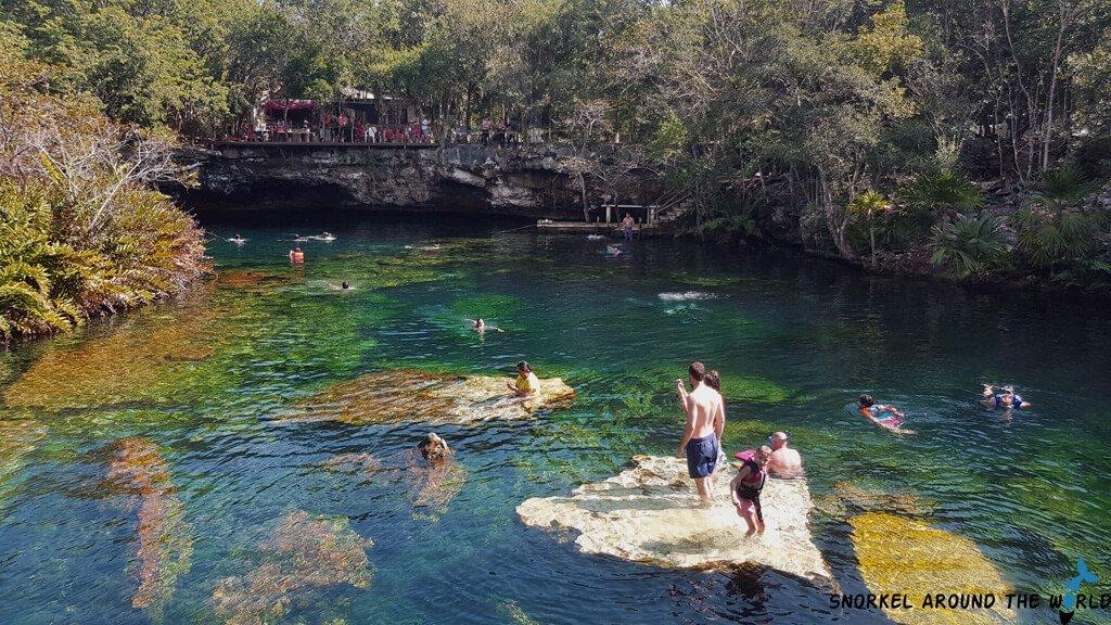 Cenote le jardin del eden snorkeling